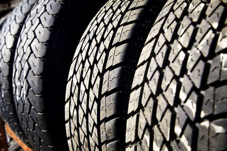 tyre tread: Vehicle tires