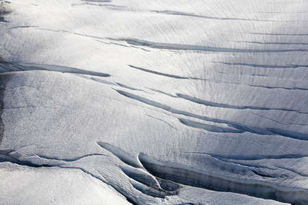 crevasse: Cracks in the ice