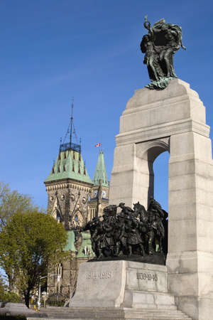 The National War Memorial,Parliament grounds,Ottawa,Ontario,Canada Stock Photo - 7211074