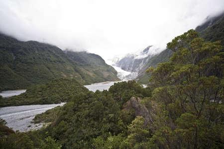 franz josef: Franz Josef Glacier,New Zealand