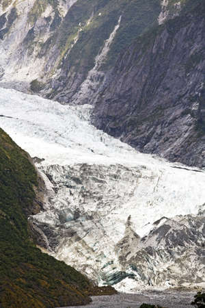 franz josef: Franz Josef Glacier,Westland National Park,South Island,New Zealand Stock Photo