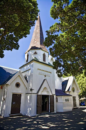 thatcher: Old St Pauls Cathedral,Wellington,North Island,New Zealand