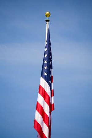 bandiera stati uniti: Bandiera americana  Archivio Fotografico