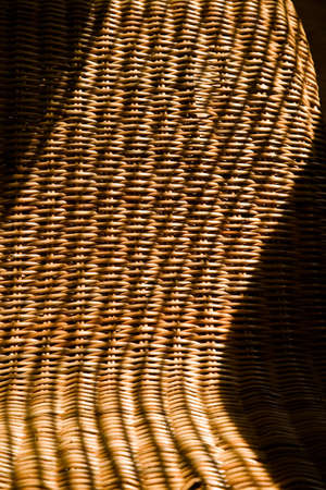 shadowed: Close Up Of Wicker