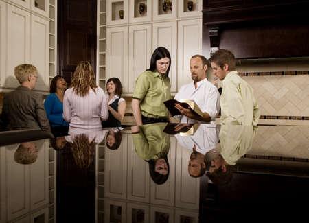 Bible study groups photo