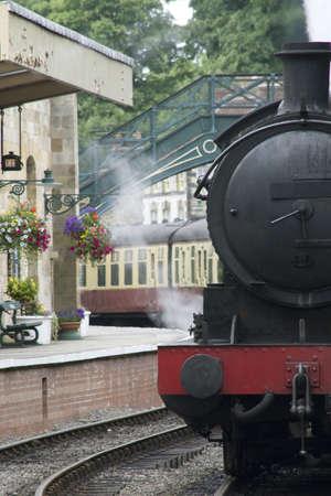A Train At The Station 版權商用圖片