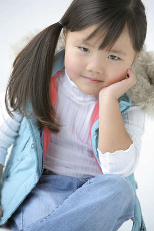 Portrait of a young girl Stock Photo - 7208151