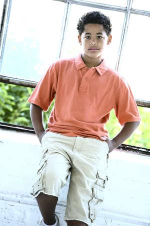colleen: Teenage boy Stock Photo