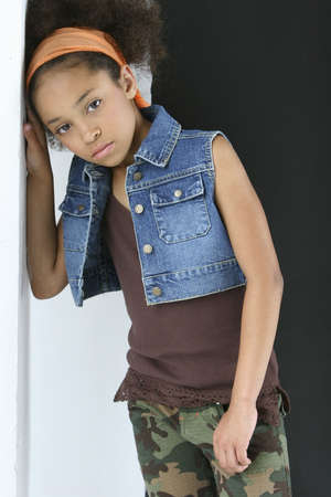 colleen: Young girl in urban outfit