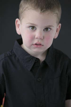 colleen: Portrait of little boy