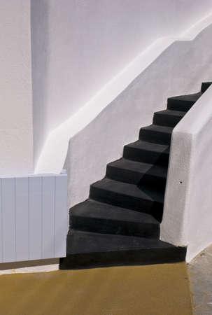 Stairway,Fira,Santorini,Greece   Фото со стока