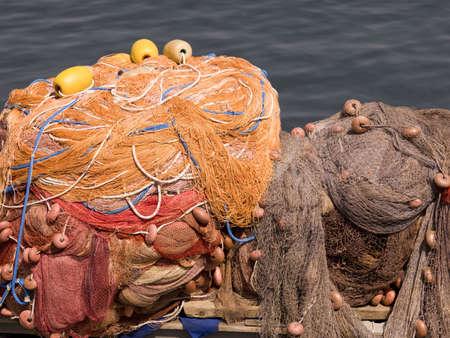buoys: Fishing nets