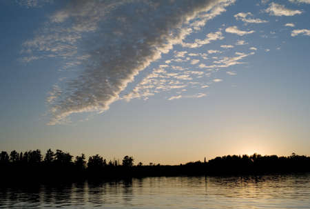 Lake of the Woods, Ontario, Canada Stock Photo - 7551714