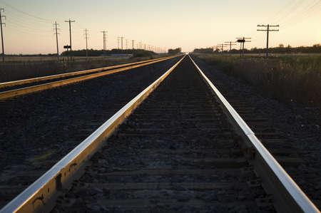 Train tracks Zdjęcie Seryjne