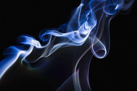 Smoke patterns Imagens - 7551857
