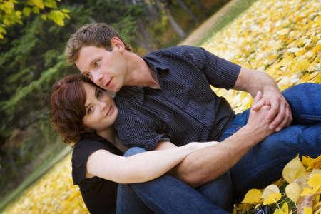 Portrait of couple Stock Photo - 7551838