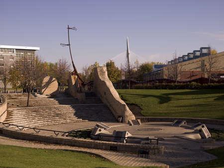 The Forks, Winnipeg, Manitoba, Canada Stock Photo - 7551841
