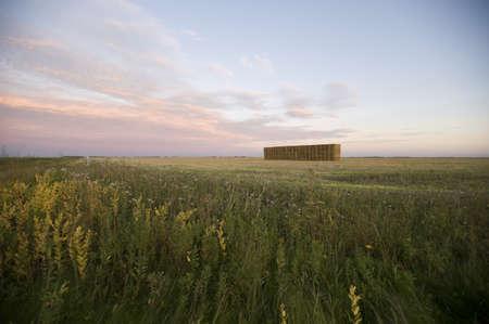 Prairie field, Manitoba, Canada Stock Photo - 7551572