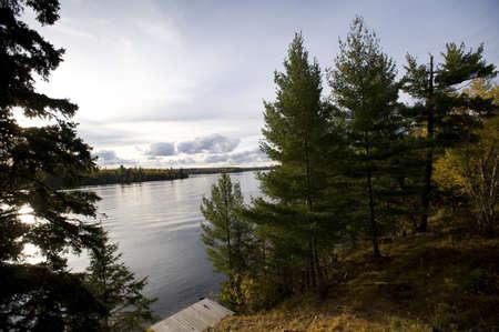 Lakeshore, Lake of the Woods, Ontario, Canada Stock Photo - 7551727