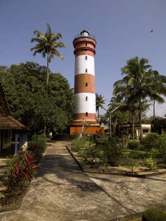 alappuzha: Lighthouse, Alleppey, Kerala, India LANG_EVOIMAGES