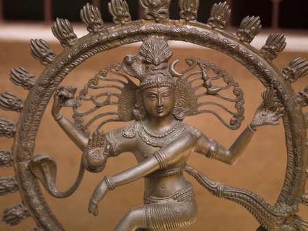 hindues: Escultura de detalle, Cochin, Kerala, India