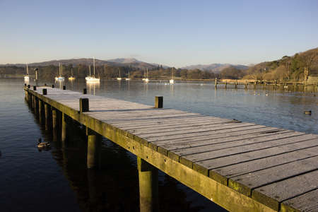 Dock, Cumbria, England Stock Photo - 7551879