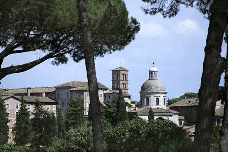 Rome, Italy; Rooftops Stock Photo - 7559151