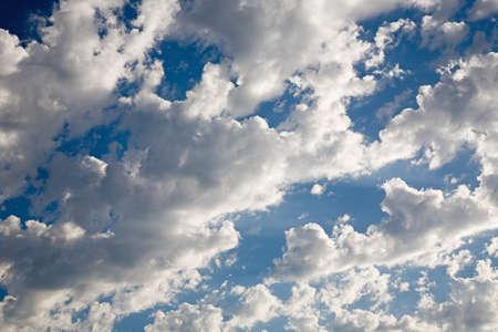Clouds in a blue sky Stock Photo - 7559196