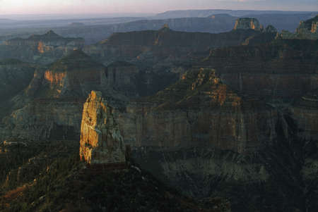 Mount Hayden from Point Imperial, Grand Canyon, Arizona, USA Stock Photo - 7551712