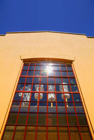 window display: Window display of tailors dummies