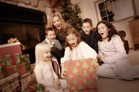 Christmas morning Stock Photo - 7551691