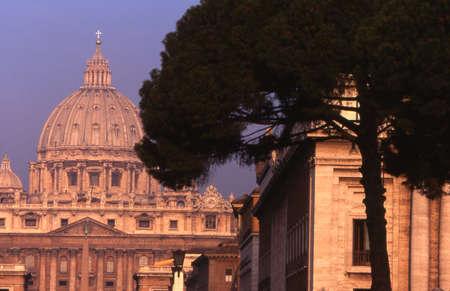 St. Peters Basilica Reklamní fotografie