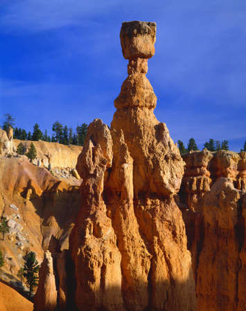 bryce canyon: Thors Hammer rock formation, Bryce Canyon National Park LANG_EVOIMAGES