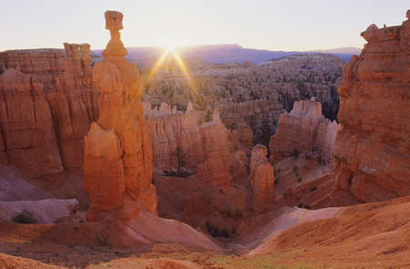 Thor's Hammer, Bryce Canyon National Park Stock Photo - 7551855