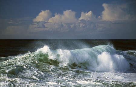 波のクラッシュ、オーシャン スプレー、岬 Kiwanda