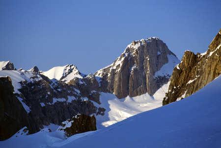 Explorers Peak, Denali National Park Stock Photo
