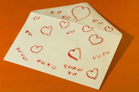 Valentines envelop