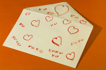 envelope: Valentines Envelope