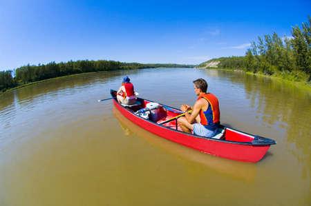 Canoeing  Stock Photo - 7551670