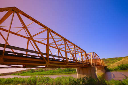 Bridge in Alberta Stock Photo - 7551888