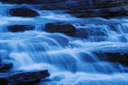 Cascading waterfall Stock Photo - 7551603
