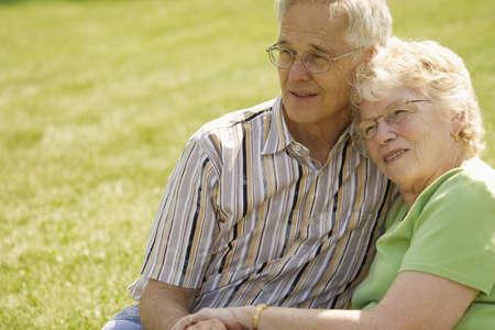 Senior couple Standard-Bild