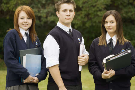 Portrait of students Stock Photo - 7551541
