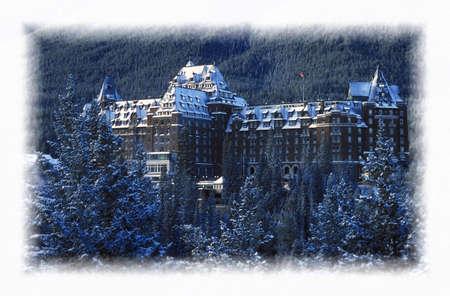 resortes: El Parque Nacional Banff Springs Hotel Banff, Alberta Canad�  LANG_EVOIMAGES