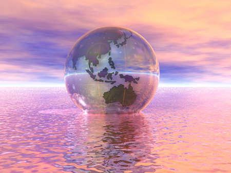 3D Globe Stock Photo - 7551512