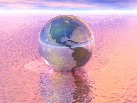 3D Globe Stock Photo - 7551560