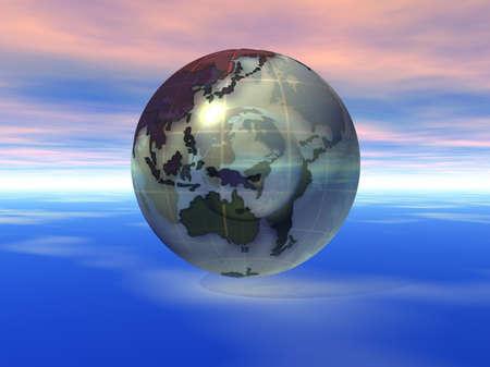 3D Globe Stock Photo - 7551422