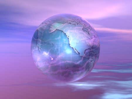 3D Globe Stock fotó