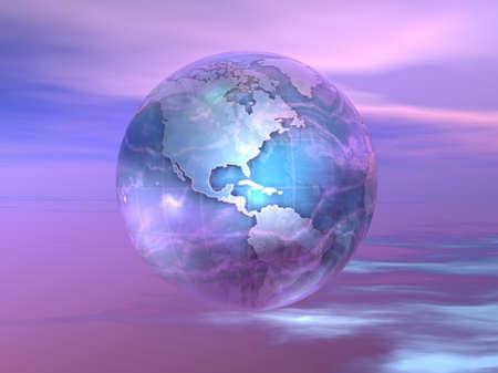 3D Globe 스톡 콘텐츠 - 7551423