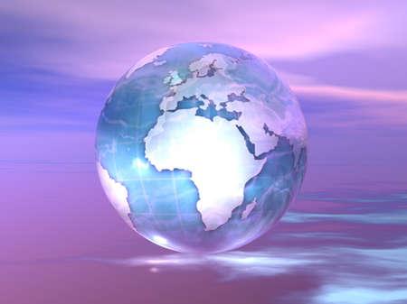 3D Globe Stock Photo - 7551409